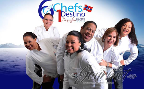 Photo of 6 Chefs compitiendo por un Destino.