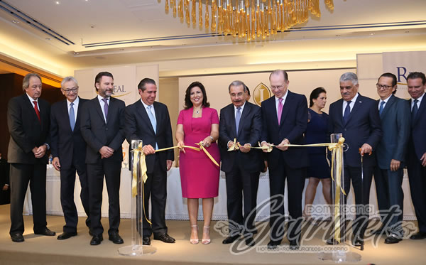 Photo of Presidente Medina inaugura Hotel Real InterContinental Santo Domingo.