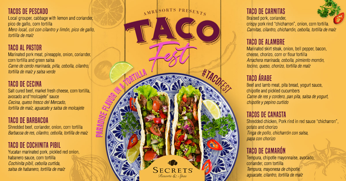 Photo of TACO FEST – AMRESORTS RD