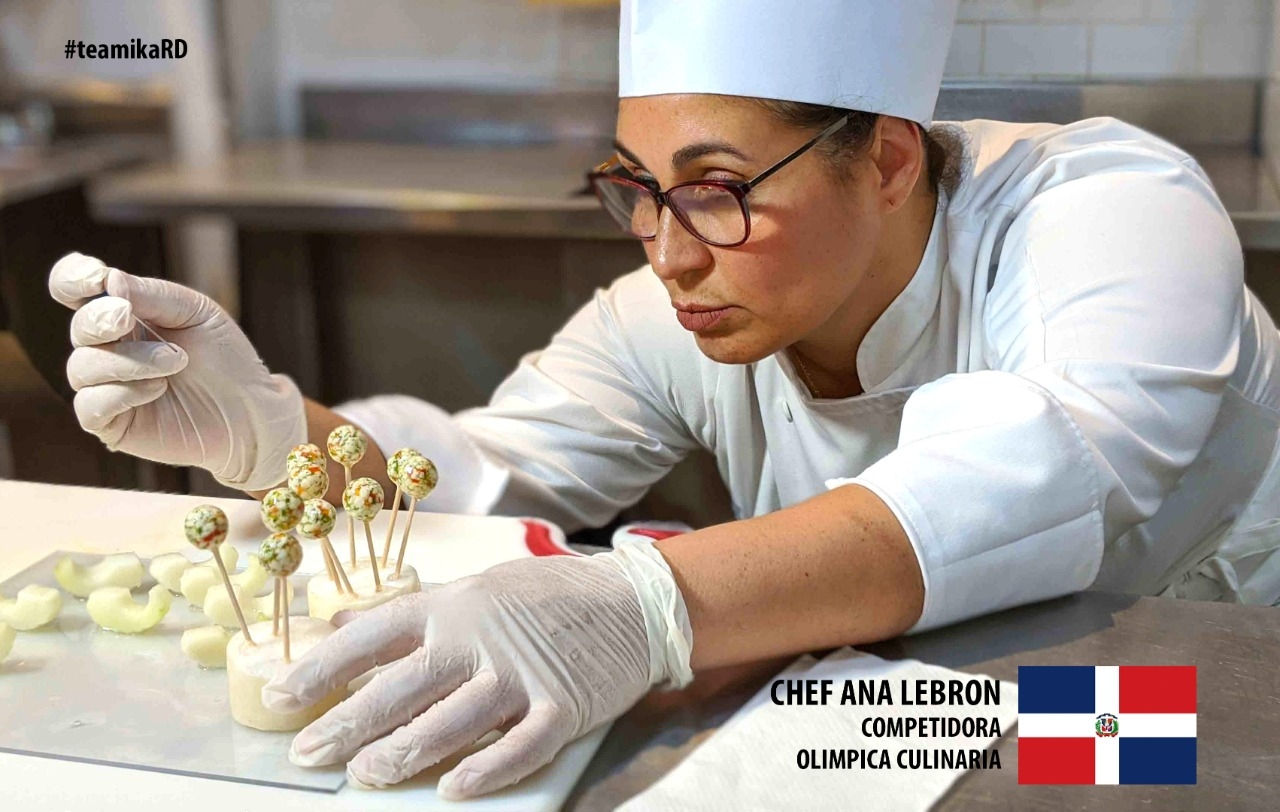 Photo of Ana Lebrón, chef dominicana, logra Oro Olimpiadas IKA Gastronómicas, Alemania