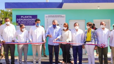 Photo of Inauguran planta de tratamiento y sistema de aguas residuales en Luperón